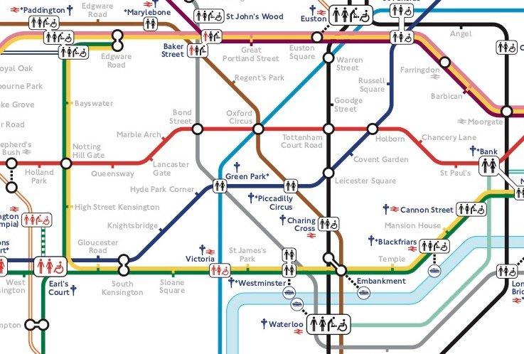Tourist Map Of London Neighborhoods
